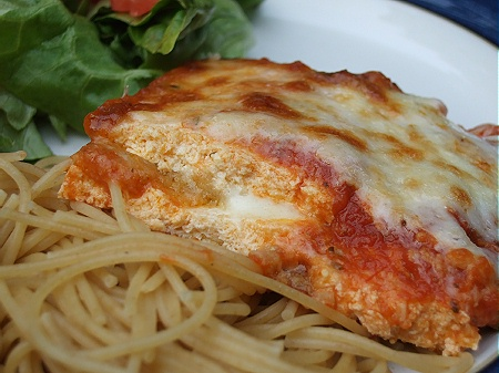 Tofu Parmigiana – Chick in the Kitchen