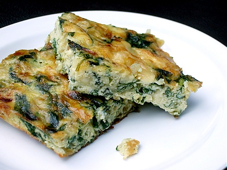 Swiss Chard & Gruyère Frittata – Chick in the Kitchen