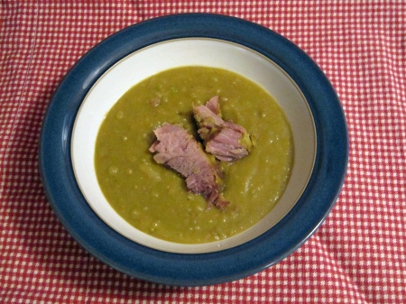 100130splitpea Slow Cooker Split Pea Soup with Flanken