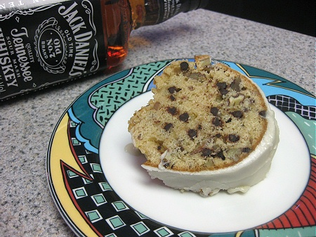 100131jackdaniels Jack Daniels Cake with Buttered Whiskey Glaze
