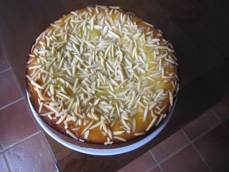Apple & Almond Torte